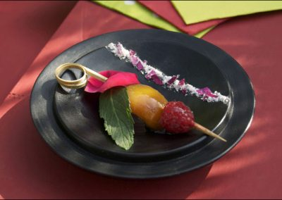 brochette de fruits d ete au pavillon gourmand