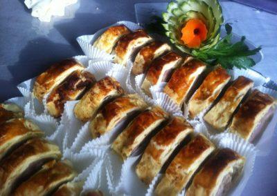 buffet viandes poisson en croute