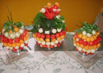 buisson trilogie de melon pasteque au pavillon gourmand