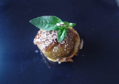 tartelette grosse pomme caramélisée